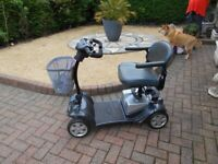 Heavy Duty Kymco car boot mobility scooter