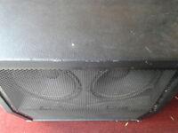 """BEHRINGER GUITAR 4 x 12"""" CAB ...V.G.C"""