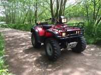 Honda TRX450S ATV Farm Quad Road Legal
