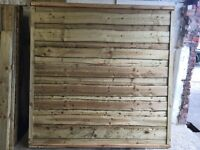 🌲Tanalised Wooden Garden Fence Panels ~ Wayneylap