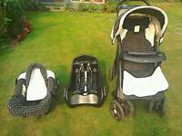 Mothercare travel system. Buggy and car seat