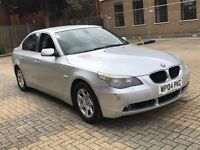 BMW 5 SERIES 525D 2.5 SE SALOON DIESEL AUTOMATIC GOOD DRIVE LUXURY LEATHERS NO E CLASS 520 530 730 3