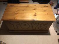 Antique Pine Toybox