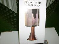 Artistic Skyline design touch lamp