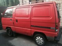 Suzuki Super Carry Rhino red van, starts first time every time!