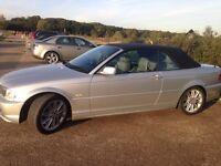 2003 BMW 318 CI M SPORT CONVERTIBLE 67K AUTO MINT CONDITION LONDON