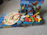 Assorted childrens puzzles