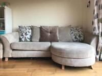 Sofa/armchair/footstool