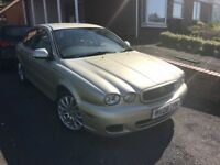 2008 JAGUAR X TYPE 2.0 DIESEL GOLD *REDUCED PRICE FOR QUICK SALE*