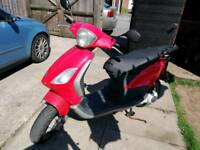 Piaggio fly 125cc scooter same as gilera runner. DNA etc..
