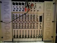 Mixer Berhinger MX1604A