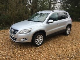 VW TIGUAN 2.0 TDI SE 4MOTION 5 DOOR SILVER MANUAL