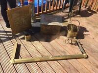 Brass Fire Surround Pieces