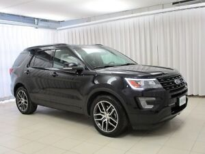 2017 Ford Explorer WOW! WHAT MORE DO YOU NEED!? SPORT ECOBOOST 4