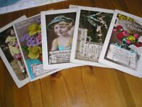 Selection of old postcards