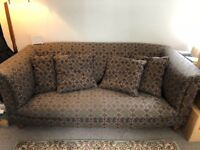 Lovely tapestry sofa FREE to anyone who can collect it