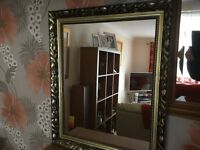 ANTIQUE STYLE GOLD MIRROR