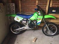 1986 Kawasaki kx 80