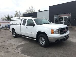 2011 GMC Sierra 1500 SLE with cap and tailgate