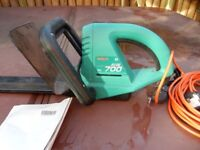 BOSCH HEDGE TRIMMER AHS 700 NEVER BEEN USED 650W