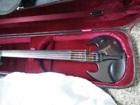 Mark Wood stingray 5 string electric violin excellent condition