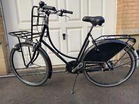 "Genuine Dutch Bike ""Dutchie Chic"" unisex model size 2 ideal for 32"" – 37"" inside leg."