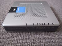 Linksys wireless ADSL modem router (works with BT DSL lines)