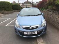 2013 Vauxhall Corsa, 2 Keys, Low Mileage, New MOT. 1.3