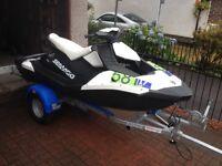 Seadoo Spark 3 up white/black 90 HO Jetski £6000