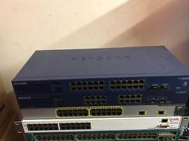 Cisco, net gear and other switch's.