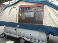 Conway cruise 93 folding camper