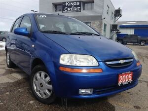 2005 Chevrolet Aveo LT / AUTO / HATCH BACK / LOADED ALLOYS