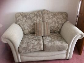 Stylish neutral colour 2 and 3 seater