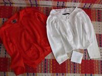 Bundle of 10 cardigans and boleros for girl 3-4years old.