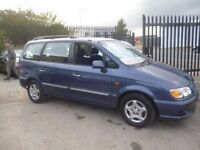 Hyundai TRAJET GSI TD,7 seat MPV,1 previous owner,FSH,full MOT,clean tidy car,runs and drives well