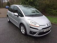 CITROEN PICASSO 1.6 DIESEL HDI VTR+ EGS 07 REG IN SILVER WITH BLACK TRIM, MOT MARCH 2018 07867955762
