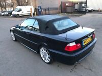BMW-325CI M-SPORT CONVERTIBALE ,53REG,92K, FOR SALE