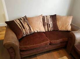 Chocolate Brown Sofas for Sale - Excellent Condition