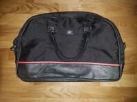QUICK SALE/NO TIME WASTERS!! Black Authentic Hugo Boss Perfume Classic Weekend Travel Bag