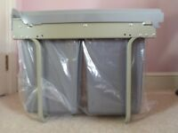 Brand New 40 litre Pull Out Recycling Kitchen Bin