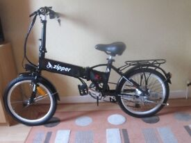 Z1 Zipper Electric Folding Bike
