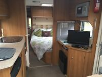 2009 4 Berth Baileys Pageant Limousine Fixed bed. End bathroom