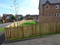 Dk Joinery & Fencing - 6ft fence from £10 a foot. 6ft gate £75-100 supplied and fitted.