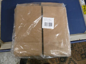 Over 1000 paper bags still in packaging - brown craft SOS bags - great for retail