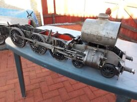 """5"""" Gauge GWR County chassis & boiler"""