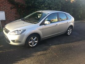 2008 FORD FOCUS//NEW MOT//MANUAL SILVER//SERVICE HISTORY//2 KEYS//ONLY 1 KEEPER FROM NEW, £4,500