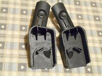 Quinny Buzz Car Seat Adapters for Dreami Carrycot & Maxi Cosi Cabriofix & Pebble