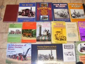 Collection of Road Steam Books 60+