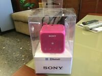 Speaker Sony bluetooth.