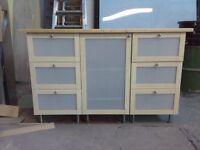 cupboard & draw unit